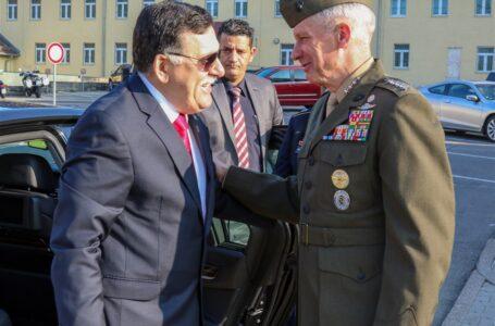 قائد الأفريكوم يرحب بلقاء باريس ويجدد دعم بلاده لحكومة الوفاق