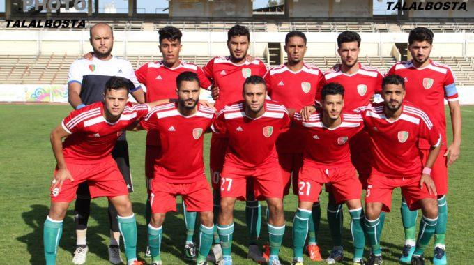 فريق الوحدة يلتقي مع الاتحاد المصراتي في مباراة ودية