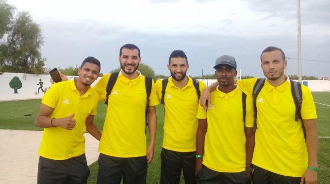 جماهيرالأهلي طرابلس بغدامس تحتفل بإعادة تفعيل رابطة مشجعي النادي