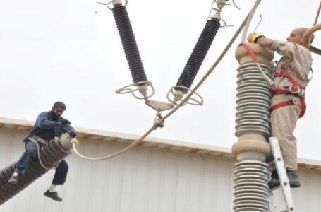 إرجاع التيار الكهربائي بعد إصلاح أضرار الحرب
