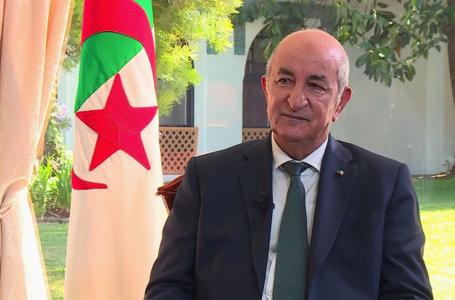 رئيس الجزائر يثمن قرار وقف القتال والحل السياسي في ليبيا