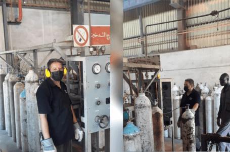الحديد والصلب تبدأ في إنتاج 6000 متر مكعب من الأكسجين الطبي