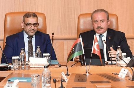 المشري يبحث مع رئيس الأمة التركي تطورات الوضع السياسي بليبيـا