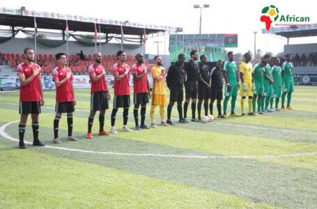 المنتخب الوطني للكرة المصغرة يفوز على السنغال برباعية في البطولة الإفريقية