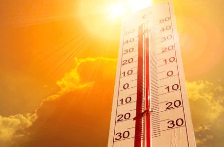 كتلة هواء ساخنة على معظم المناطق ودرجات حرارة فوق معدلاتها