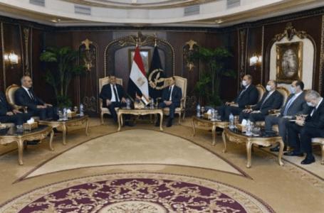 خالد مازن ونظيره المصري يبحثان تفعيل الشراكة الأمنية بين البلدين