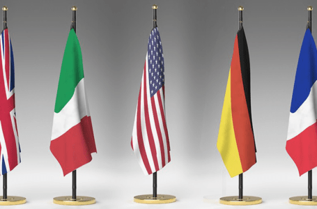 سفارات 5 دول كبرى ترفض التدخل الأجنبي في ليبيا