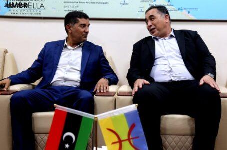 المجلس البلدي زوارة يتفق مع بلدي مصراتة لتطوير الأنشطة الخدمية بين البلديتين