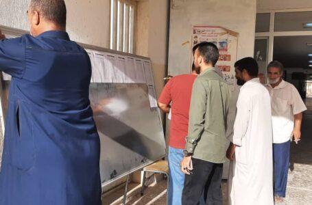 المفوضية تشرع في نشر قوائم الناخبين الأولى بطرابلس