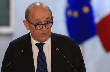 لودريان: عملية الانتقال في ليبيا محور مؤتمر باريس المقبل